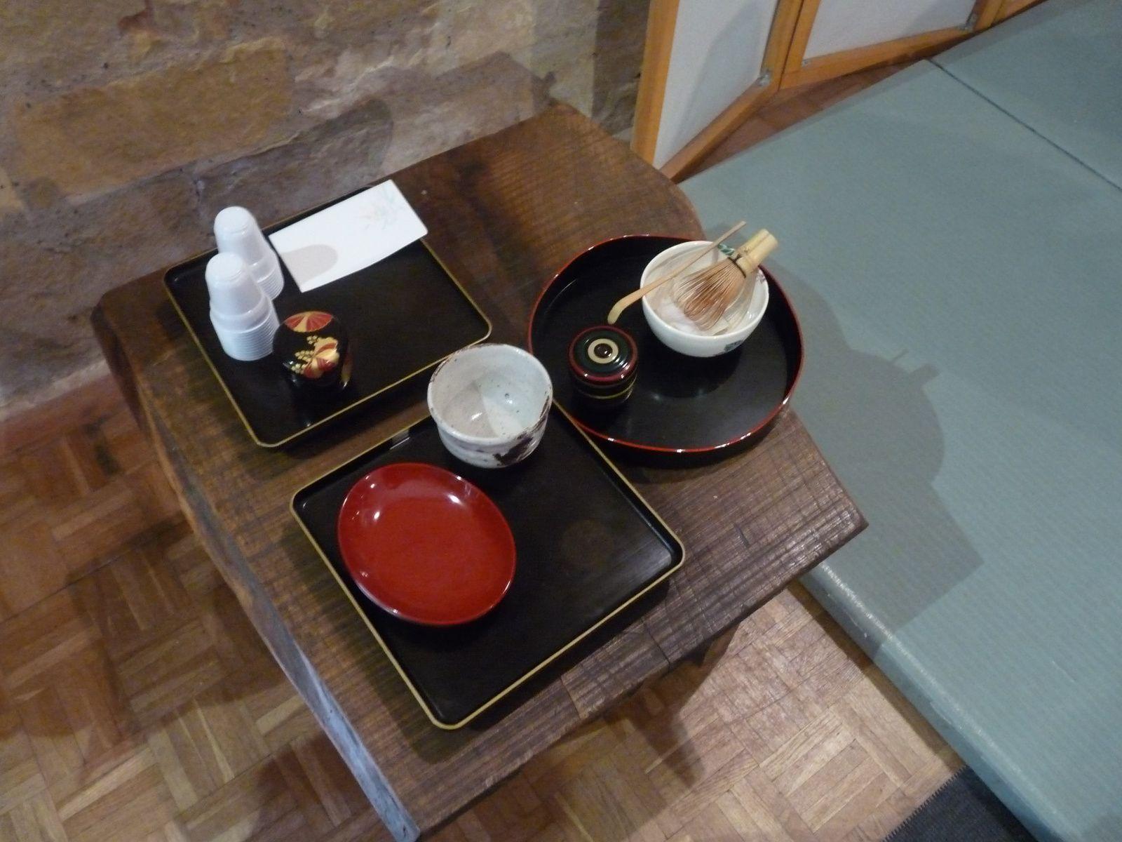 cérémonie du thé: préparation du thé matcha et atelier cuisine
