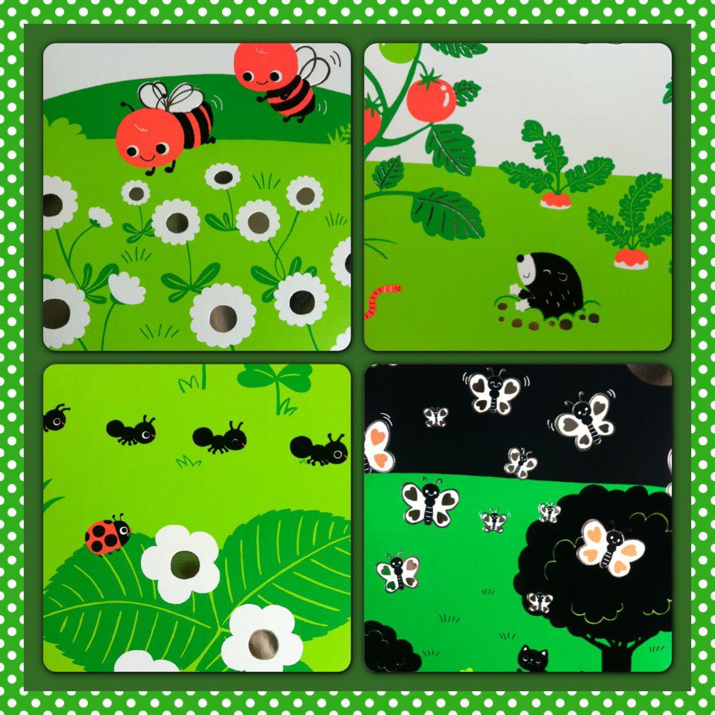 Regarde dans l'herbe