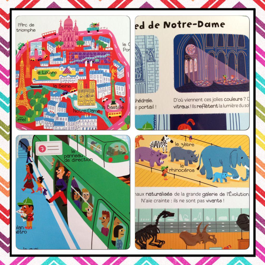 Ma baby encyclopédie : Paris, les transports, la planète Terre.