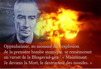 Oppenheimer_Bhagavad-gita_ bombe atomique-Citation