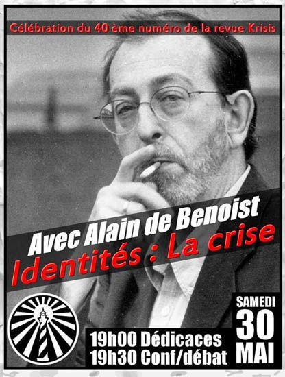 Alain de Benoist, les intellectuels et le poison des cigarettes