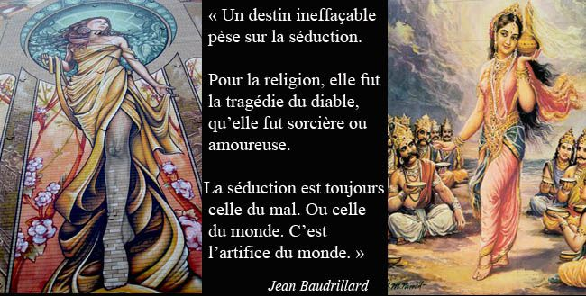 De la séduction, de Jean Baudrillard