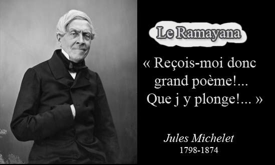 Jules Michelet et le Ramayana-citation