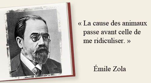 Émile Zola et les animaux