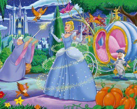 cendrillon de walt disney et le formatage spirituel des enfants-baguette magique