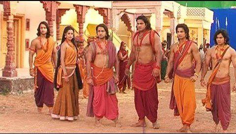 Les malheurs de Draupadi, l'héroïne du Mahabharata et les cinq Pandavas