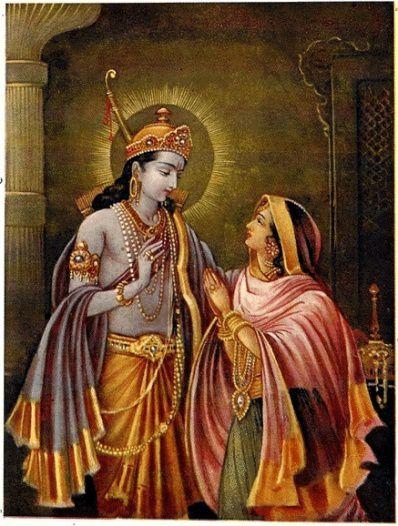 Sita-Rama, le plus célèbre couple de l'histoire