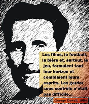 George Orwell, le sport_citation