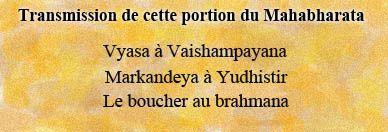 Les auteurs de la transmission du Mahabharata