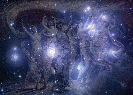 La Pléade ou les Krittikas, les femmes des sept sages