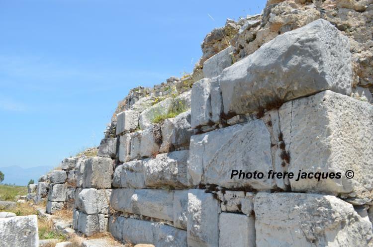 Une visite dans les ruines de Milletos Turquie (la Millet du livre des Actes des Apôtres)