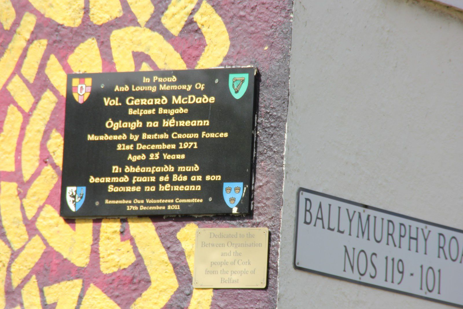 604) Ballymurphy road, West Belfast