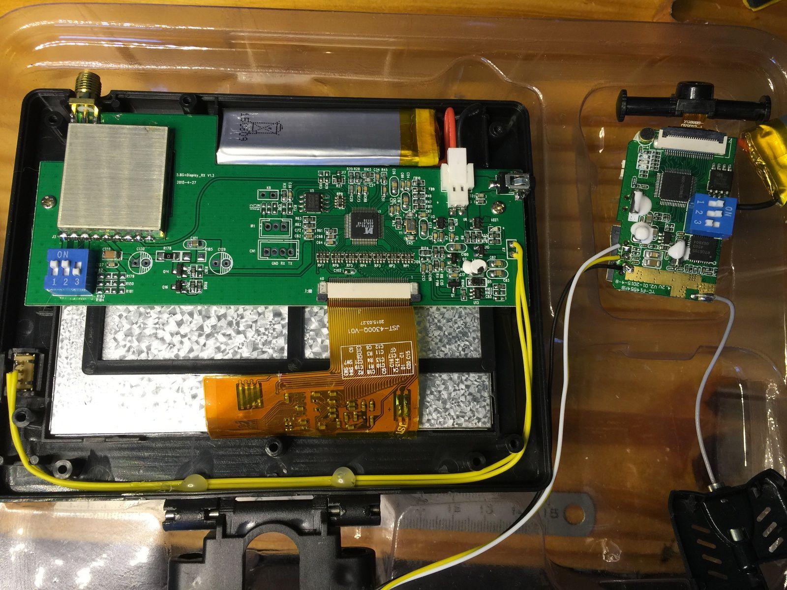 Test KIT FPV 5.8GHz sur un drone JJRC H12C