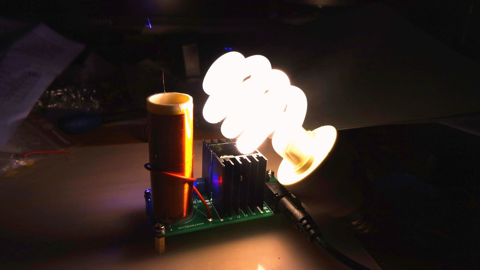 C'est vraiment bluffant avec différentes lampes CFL