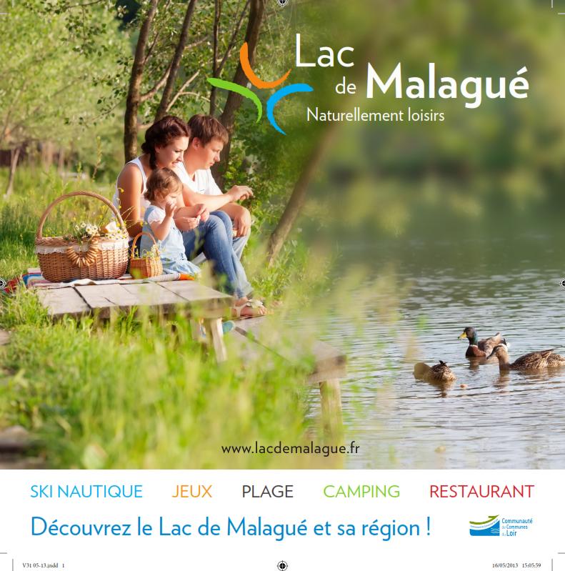 Programme estivale au Lac de Malagué