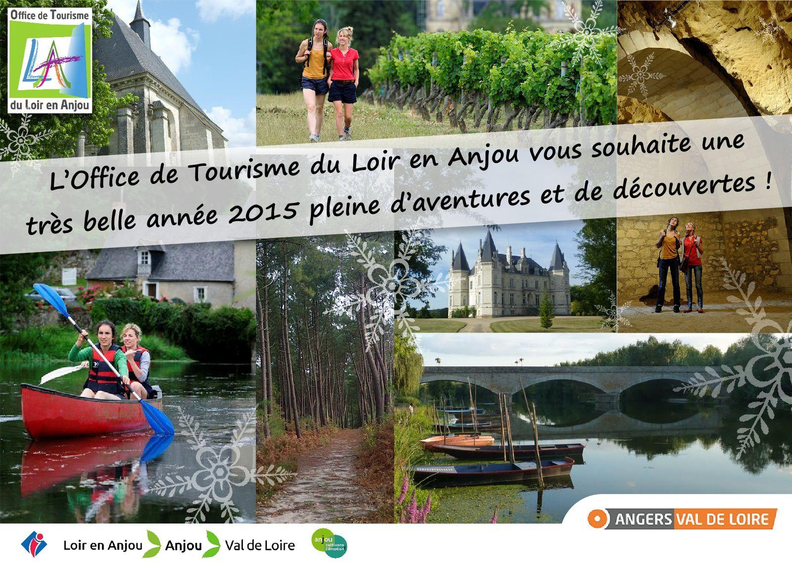 Les voeux 2015 de l 39 office de tourisme destination anjou loir et sarthe - Office de tourisme eure et loir ...