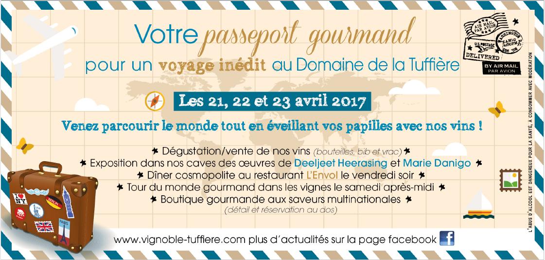 Portes ouvertes du printemps au Domaine de la Tuffière les 21,22 et 23 avril 2017