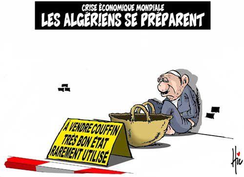 L'Algérie va affronter une grave crise économique.