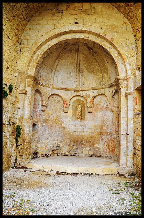 Reste de l'église Hospitalière - Le Poèt-Laval