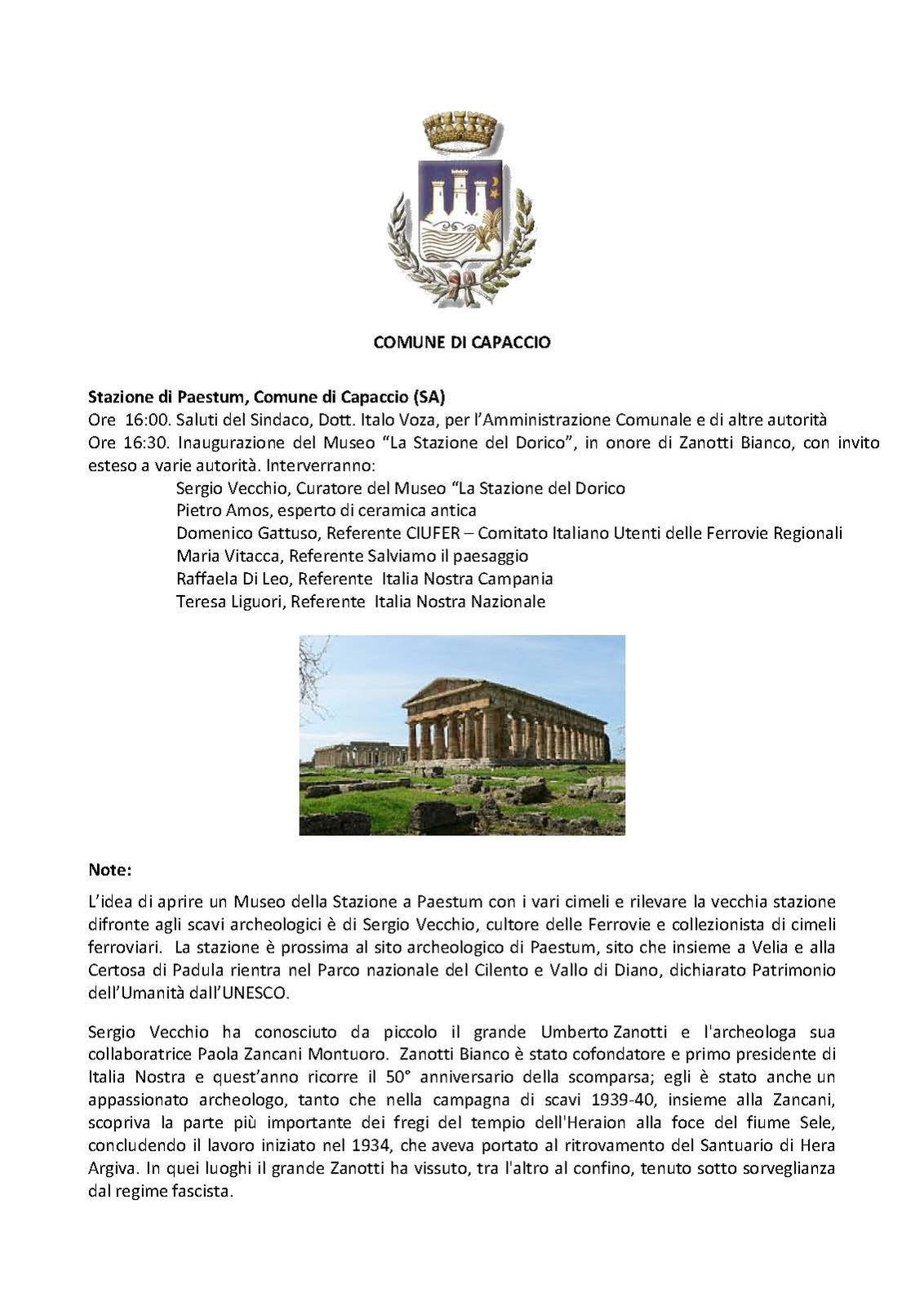 Journée des Chemins de fer italiens le 03 octobre