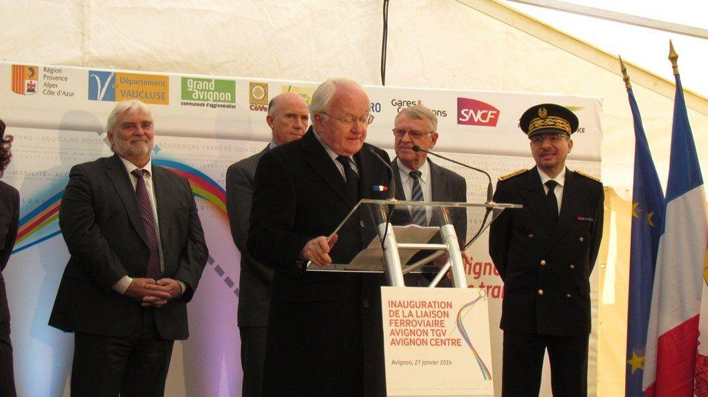 Inauguration de la liaison ferroviaire AVIGNON TGV - AVIGNON CENTRE