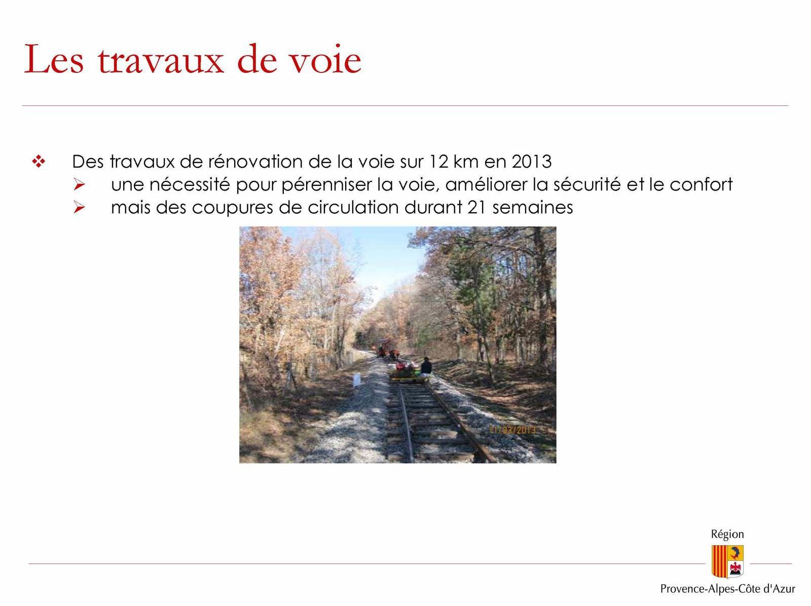 Comité de ligne des Chemins de fer de Provence à Annot
