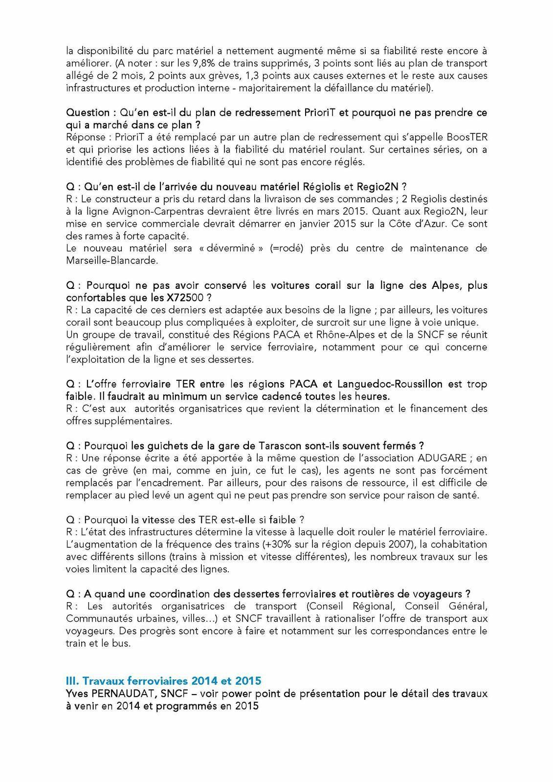 Compte rendu de la réunion SNCF-associations du 9 juillet