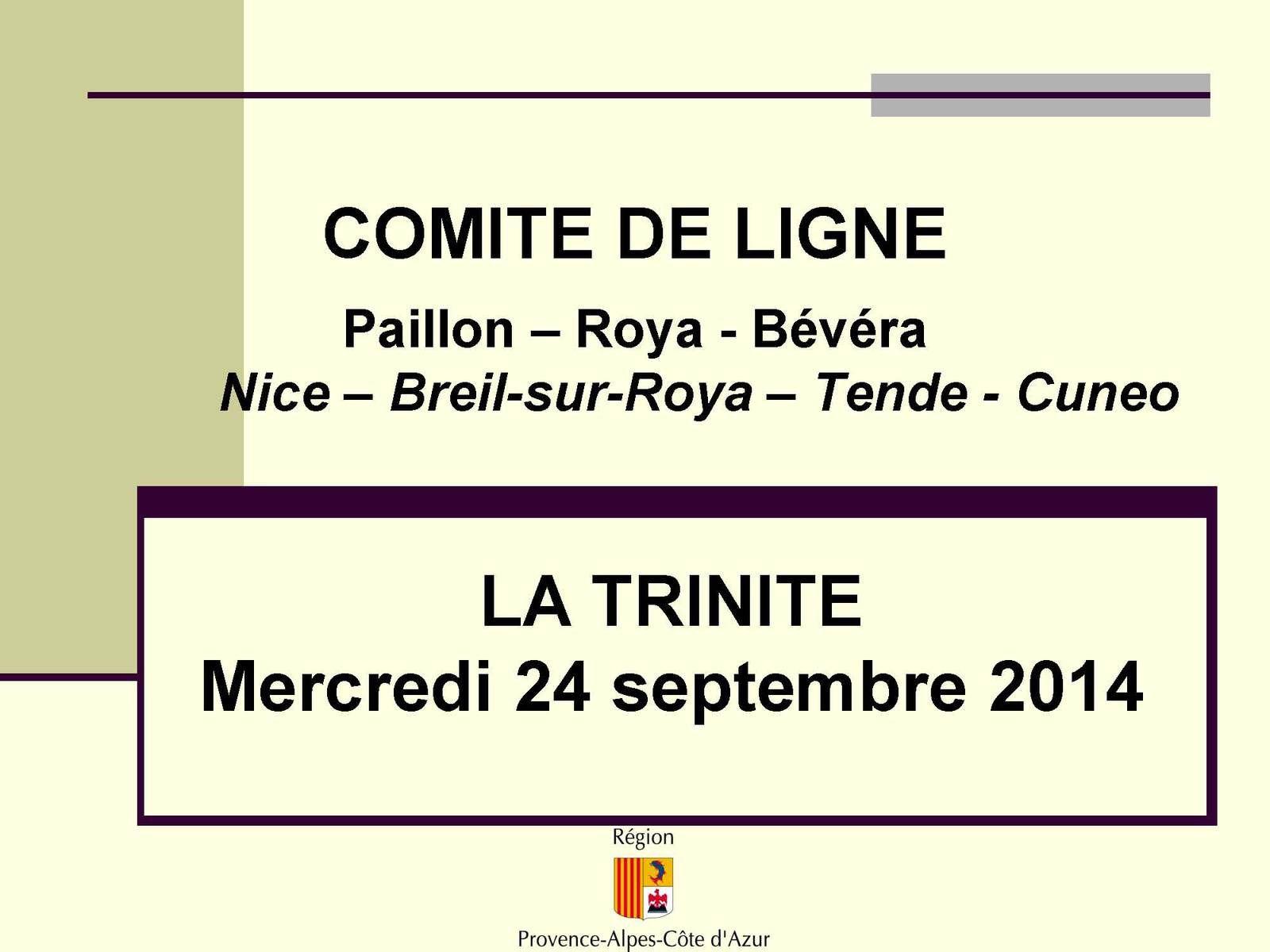 Comité de ligne Paillon-Roya-Bévéra