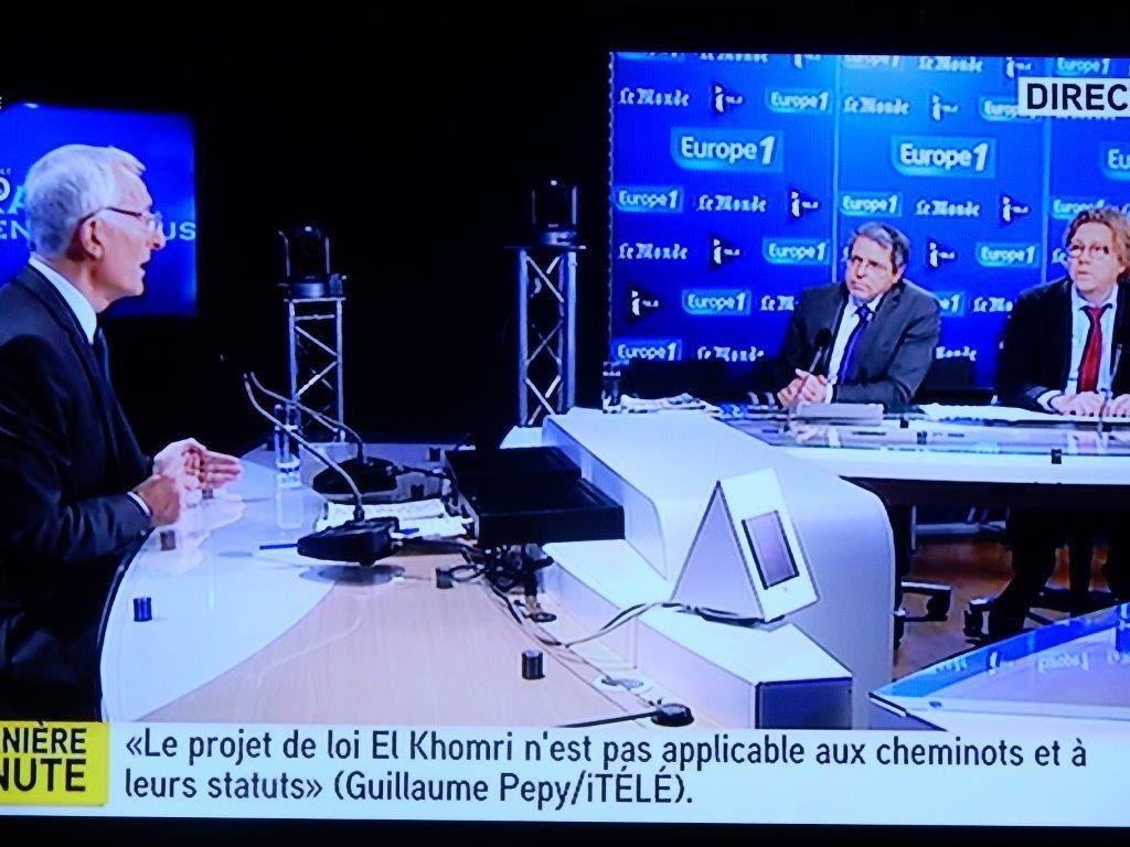 SNCF sur I télé