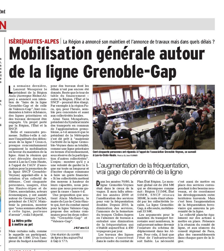 Mobilisations GAP-GRENOBLE