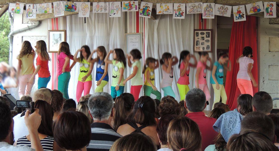 12. Les filles de l'Atelier Danse