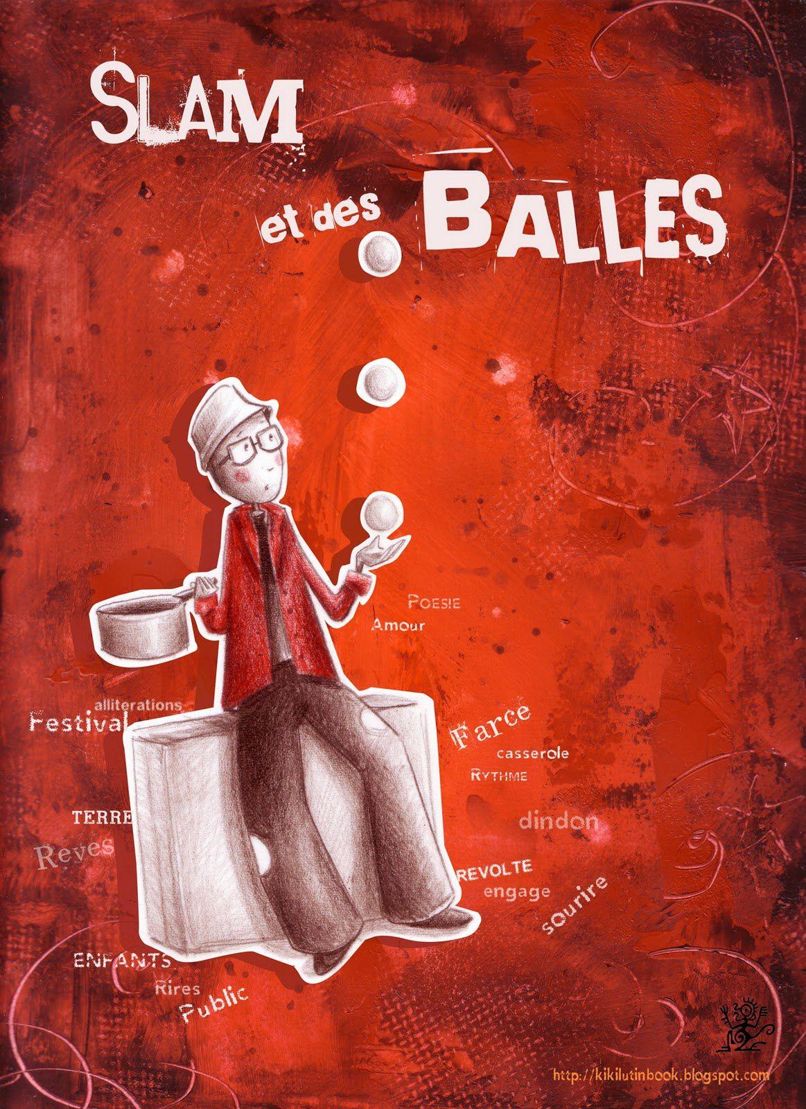 Spectacle gratuit &quot&#x3B;Slam et des Balles&quot&#x3B; à MONTENDRE - Jeudi 30 JUILLET