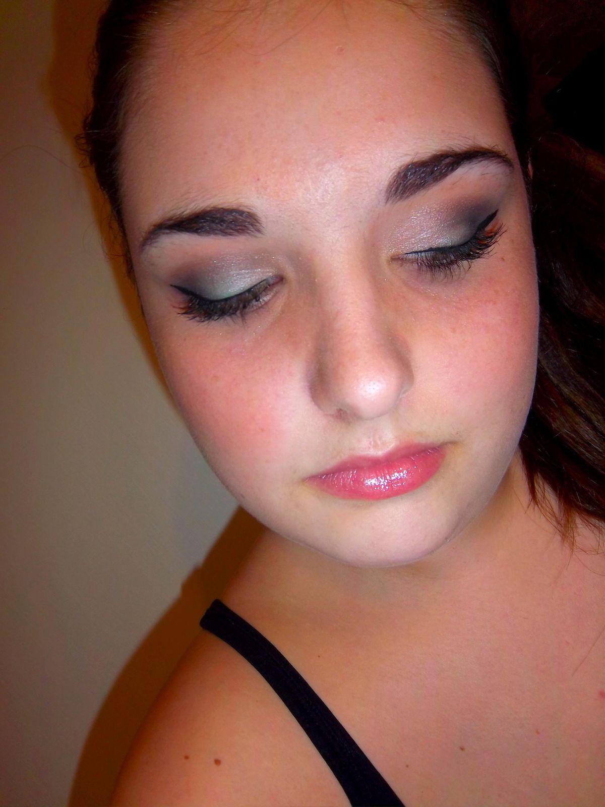 Make up émeraude avec Boho