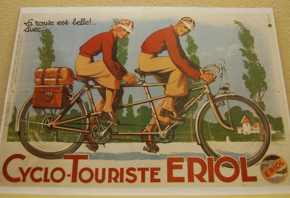 Une affiche vue à la salle Moutou pendant l'expo.