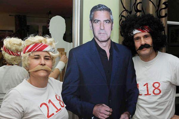 118, 218 avec le beau George Clooney