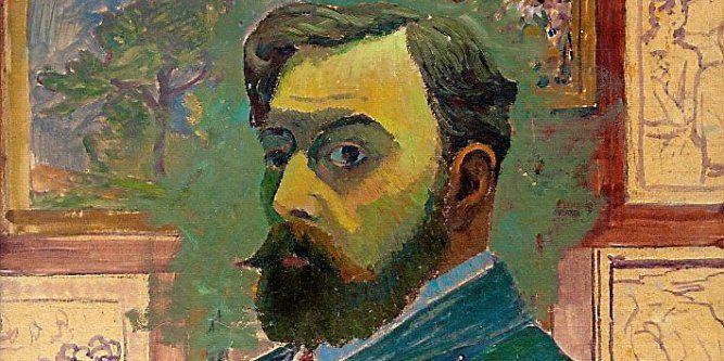 Gustave Fayet - autoportrait