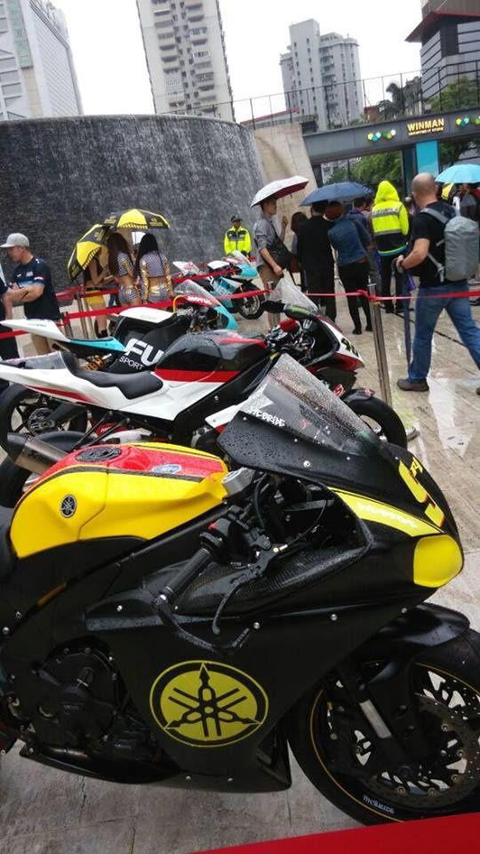 Macau Motorcycle Show.