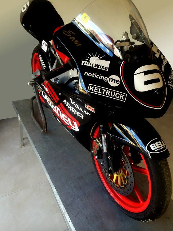 Présentation de la Honda RS 2015 de William Dunlop.