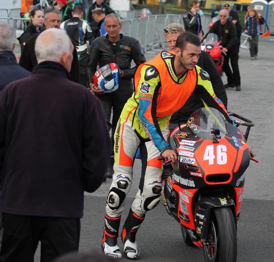 Victor Lopez , qui signe le retour d'un pilote Espagnol dans le team pour la plus grande joie de Marti qui croit en sa nouvelle recrue.