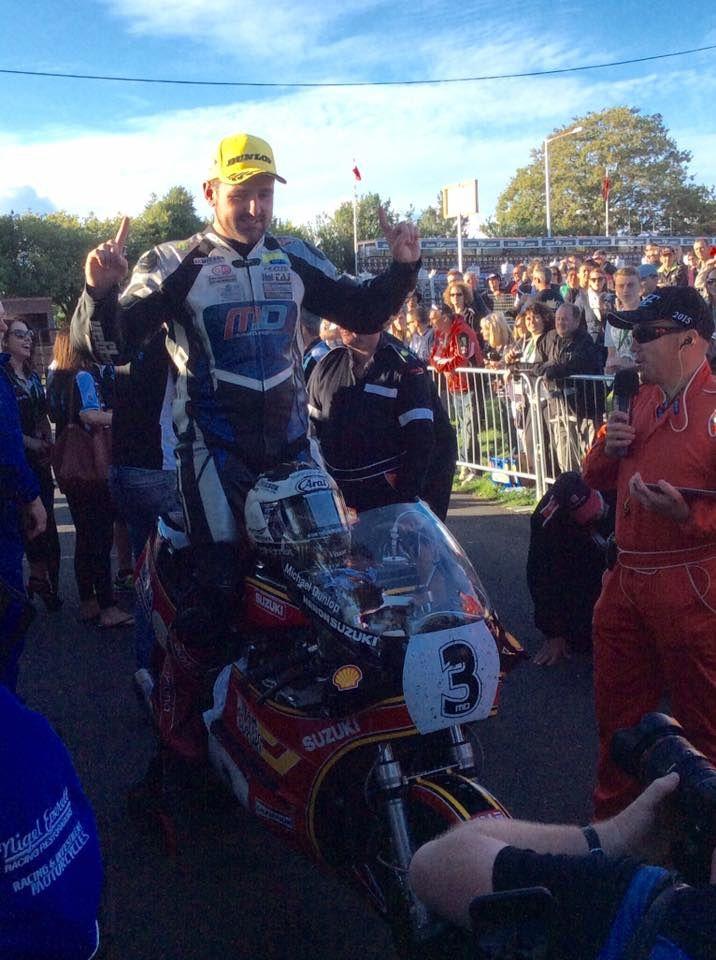 Michael Dunlop victorieux. © iomtt et Andy Taylor