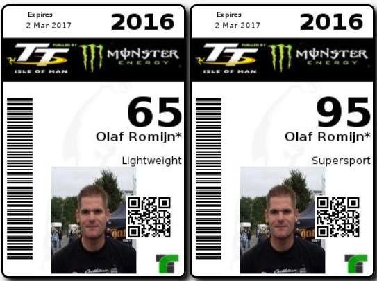 Olaf Romijn sera au TT 2016.