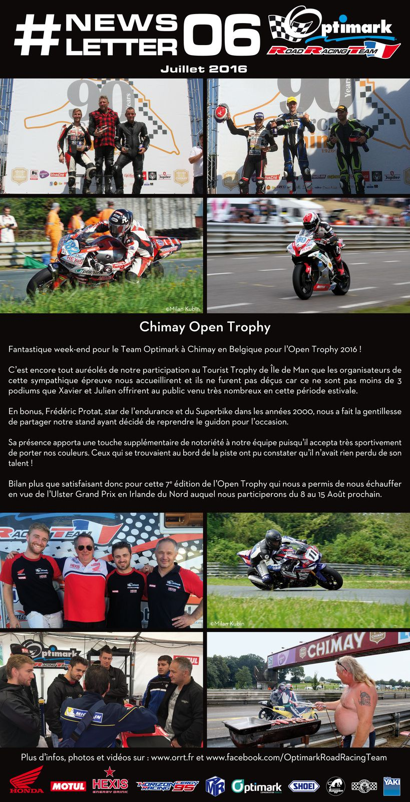 Newsletter Team Optimark Road Racing