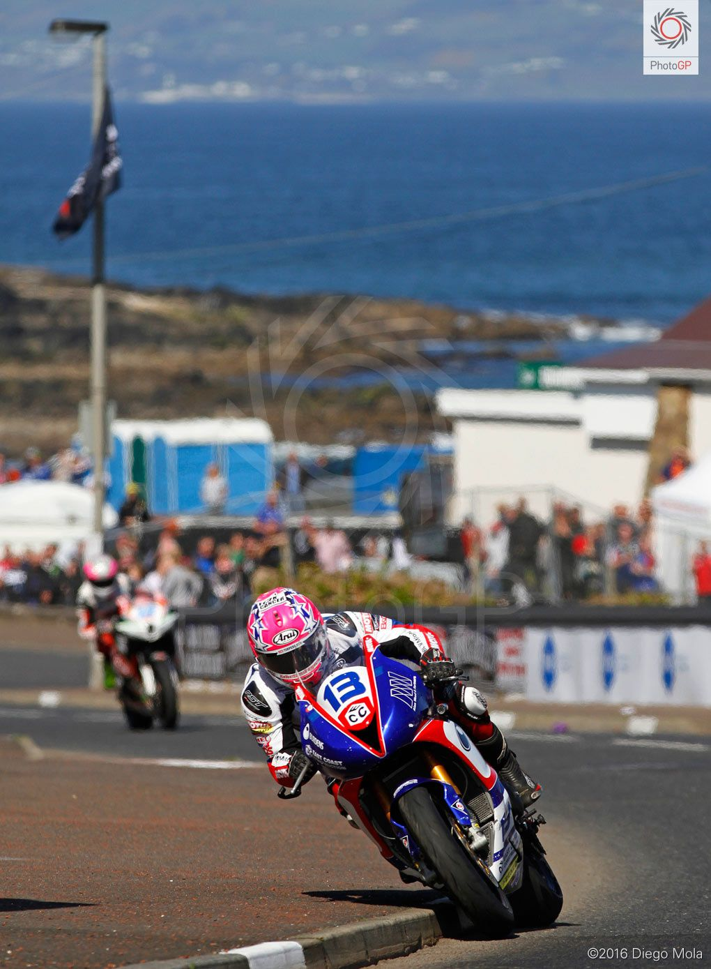 Lee Johnston à na North West 200 ©Diego Mola