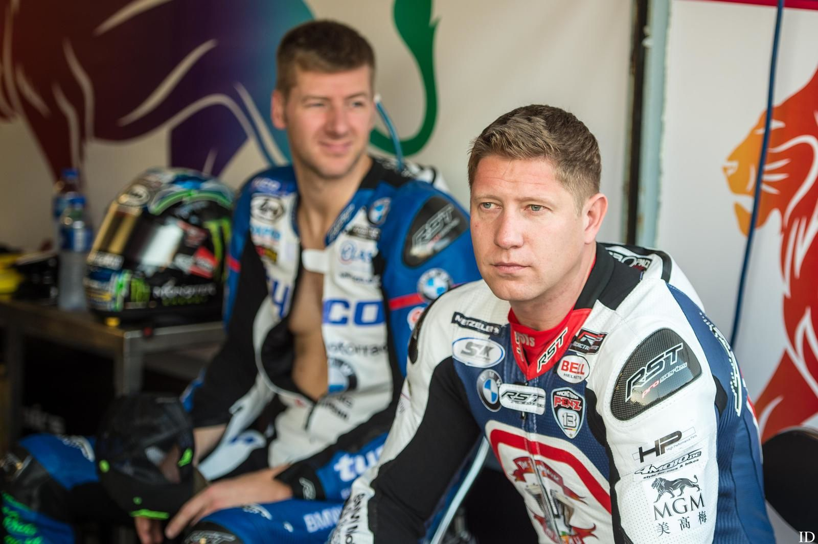 Ian Hutchinson et Gary Johnson