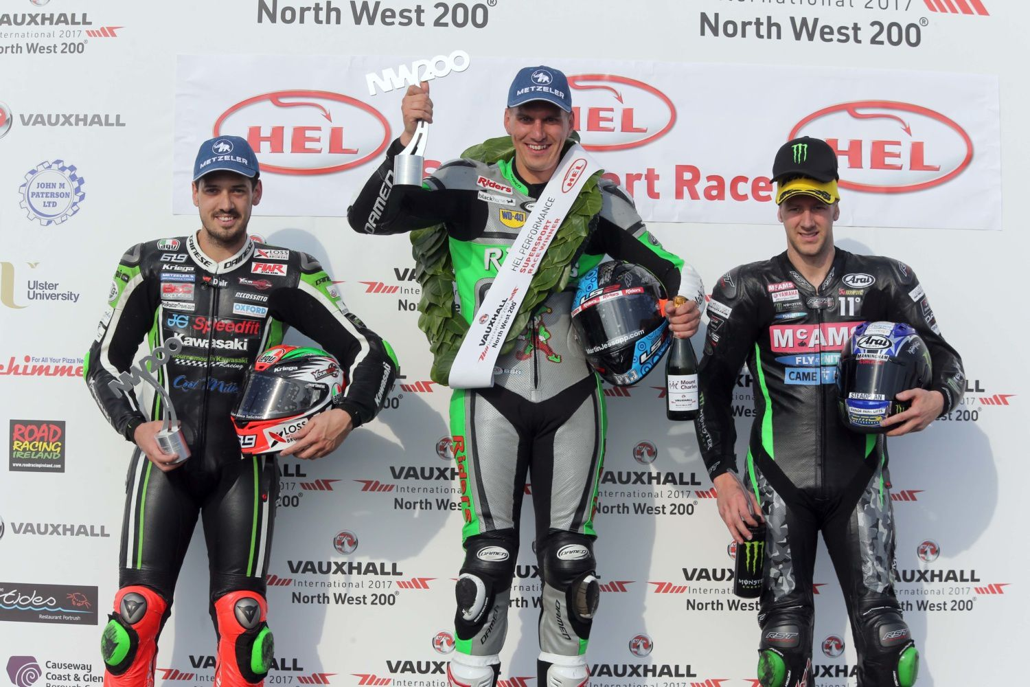 podium Supersport ©Stephen Davison