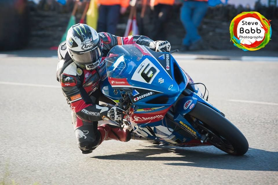 Michael Dunlop ©Steve Babb Photography