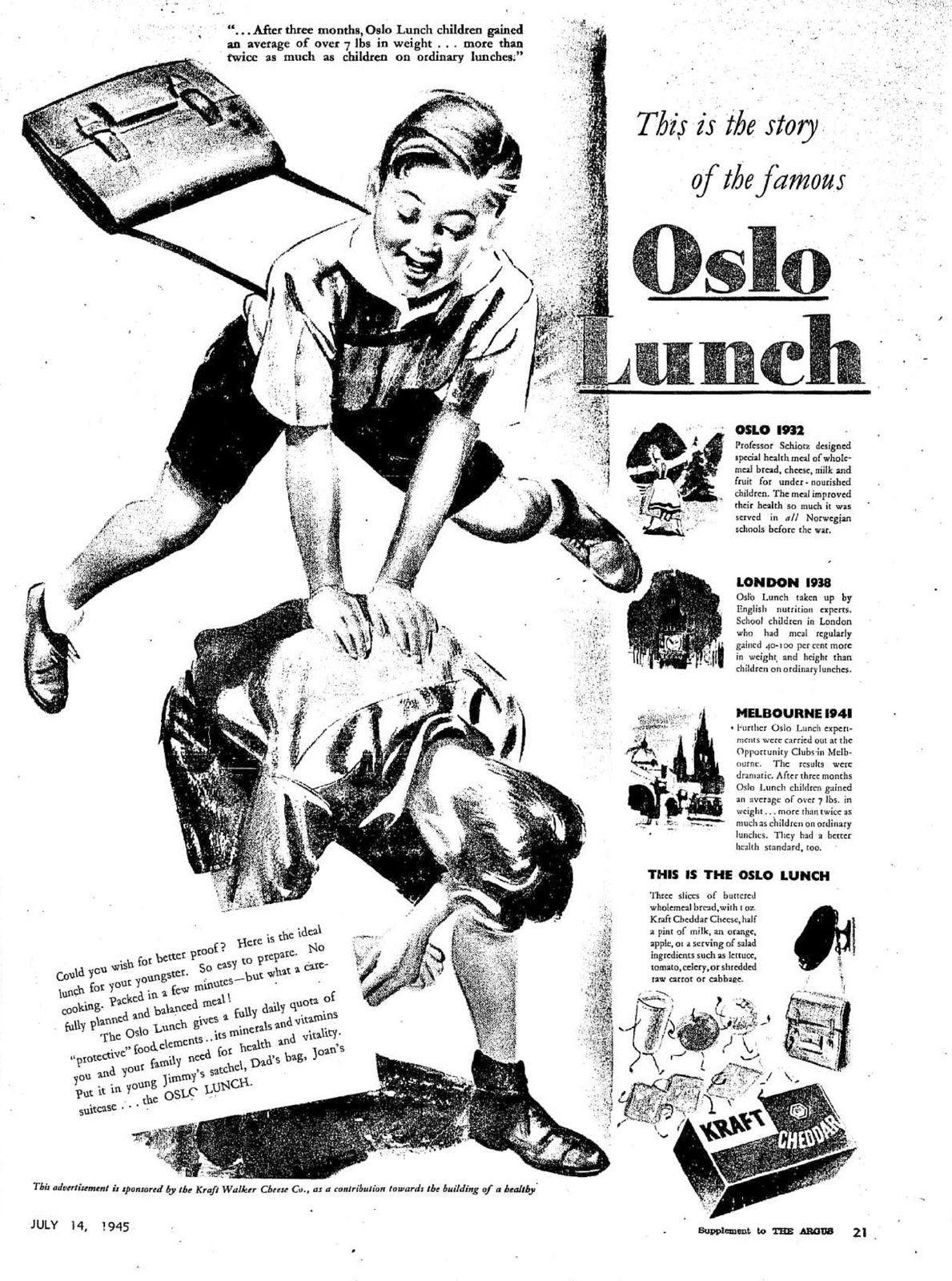 Le déjeuner d'Oslo