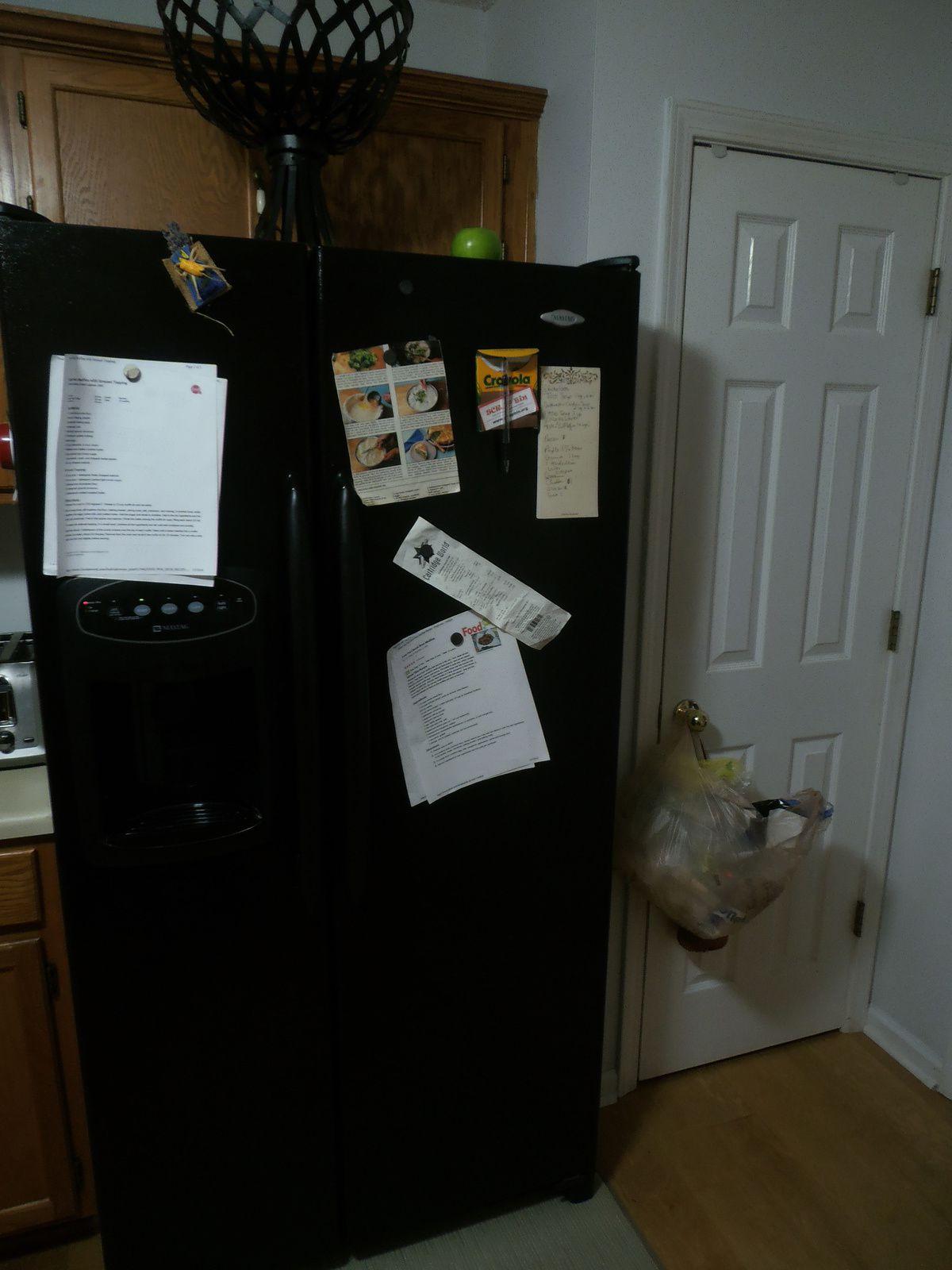 """..le frigo, dit lui aussi, """"américain"""". Je ne vous le présente pas : on le trouve désormais partout !"""