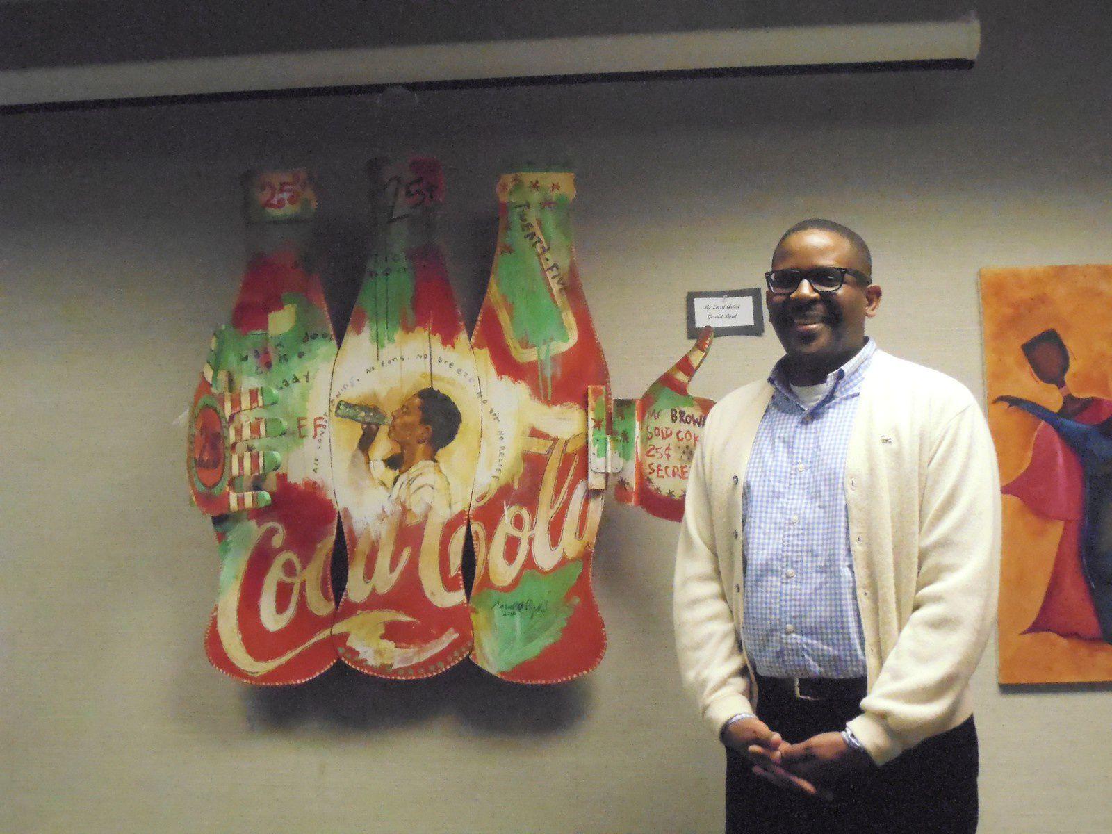 Artiste de réputation nationale et conseiller municipal, Gerald Byrd attire de nouveaux artistes.