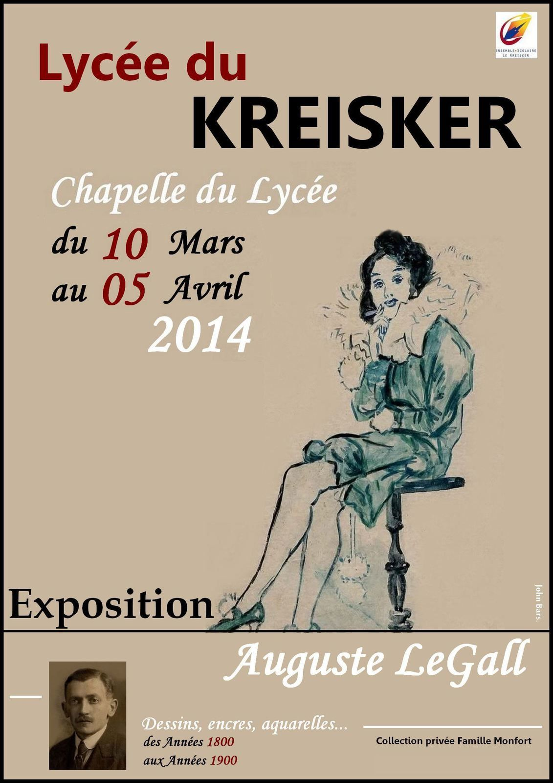 Exposition Auguste LeGall